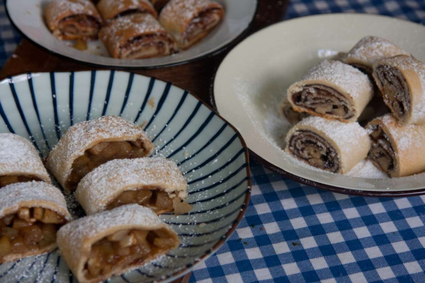 הבלוג של לייזה פאנלים | יומן מטבח קטן של עקרת בית גדולה | שטרודל נקודה! 3