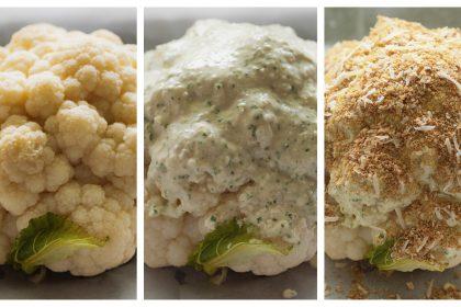 הבלוג של לייזה פאנלים | יומן מטבח קטן של עקרת בית גדולה | כרובית  אפויה בתנור 2