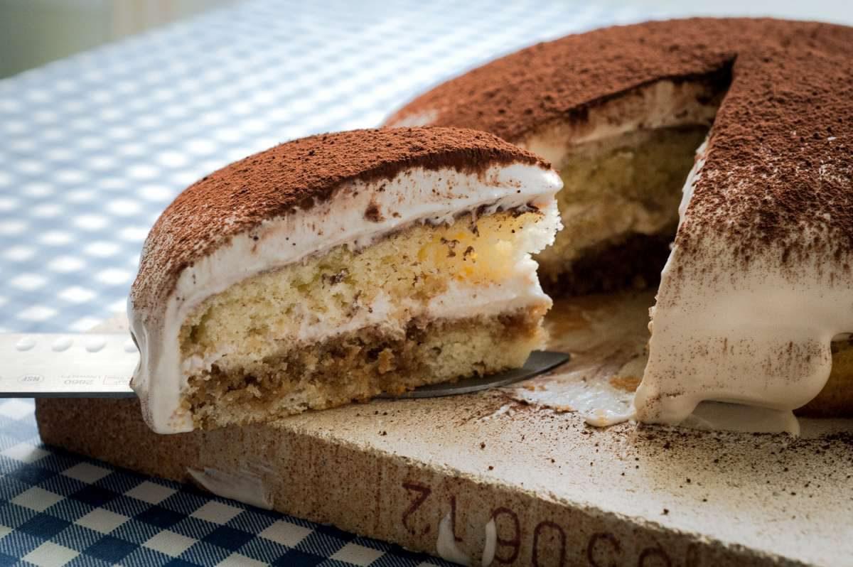 הבלוג של לייזה פאנלים   יומן מטבח קטן של עקרת בית גדולה   עוגת טירמיסו 1