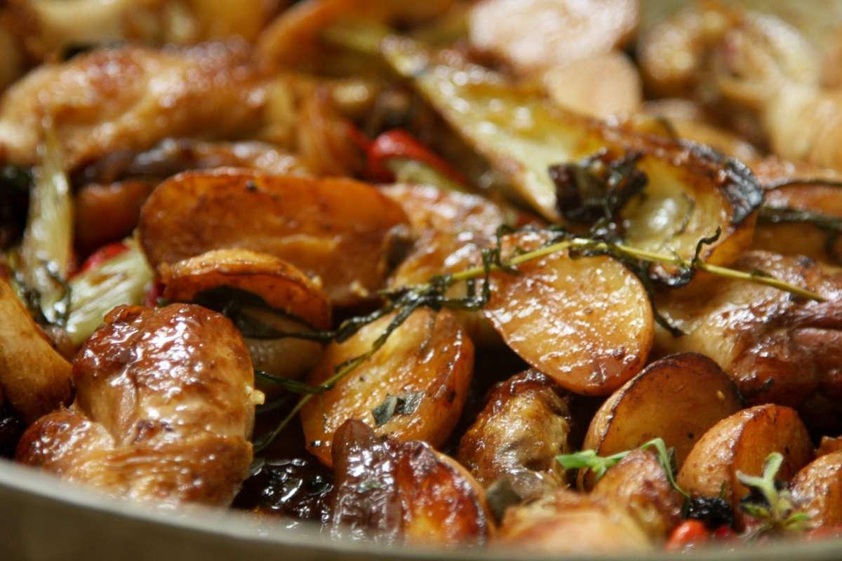 הבלוג של לייזה פאנלים | יומן מטבח קטן של עקרת בית גדולה | סיר של עוף 4