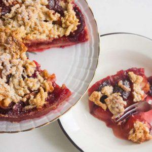 הבלוג של לייזה פאנלים | יומן מטבח קטן של עקרת בית גדולה | עוגת השזיפים של אמא 1