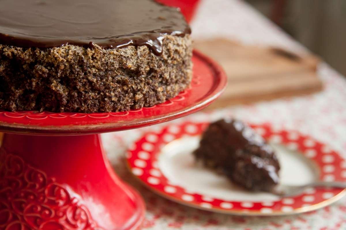 הבלוג של לייזה פאנלים | יומן מטבח קטן של עקרת בית גדולה | עוגת פרג שוקולד 1