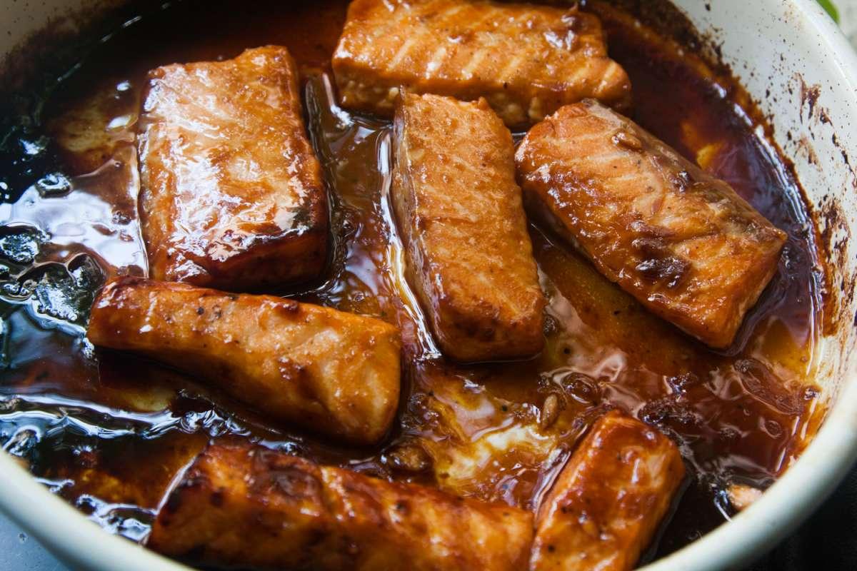 הבלוג של לייזה פאנלים | יומן מטבח קטן של עקרת בית גדולה | סלמון במיסו 3
