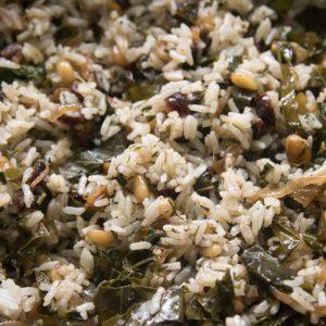 הבלוג של לייזה פאנלים | יומן מטבח קטן של עקרת בית גדולה | אורז עם עלי גפן חגיגי 18
