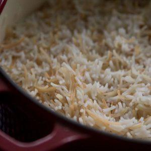 הבלוג של לייזה פאנלים | יומן מטבח קטן של עקרת בית גדולה | אורז עם עלי גפן חגיגי 3