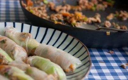 הבלוג של לייזה פאנלים | יומן מטבח קטן של עקרת בית גדולה | ספרניג רולף מישמש ועוף