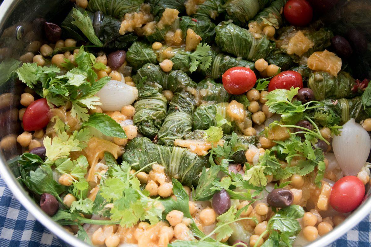 הבלוג של לייזה פאנלים   יומן מטבח קטן של עקרת בית גדולה   סיר ממולאים טבעוני גאוני 1