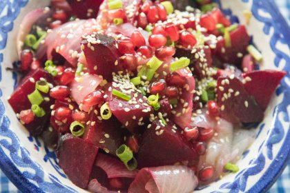 הבלוג של לייזה פאנלים | יומן מטבח קטן של עקרת בית גדולה | סלטים חגיגיים לראש של השנה 19