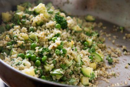 הבלוג של לייזה פאנלים | יומן מטבח קטן של עקרת בית גדולה | בורגול עבה לגזרה דקה 1