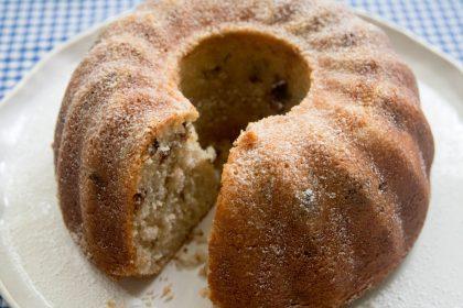 עוגת סולת בננה