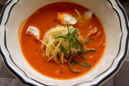 מרק עגבניות שרי